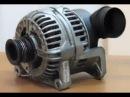 Как снять генератор BMW E39 M52 2 5l