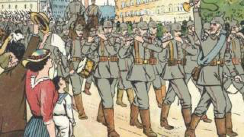 Deutsches Soldatenlied Muss i denn zum Städtele hinaus