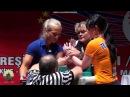 Bilek Güreşi Şampiyonu Sarah Backman Rakiplerini Tek Tek Deviriyor.