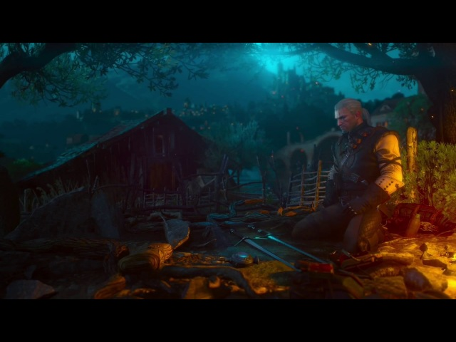 The Witcher 3 Blood and Wine Main Menu Theme Russian