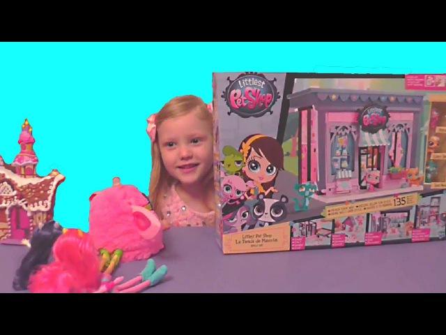 Литл Пет Шоп Littlest Pet Shop детский игровой набор Пет Шоп PET SHOP стильный маленький зоо