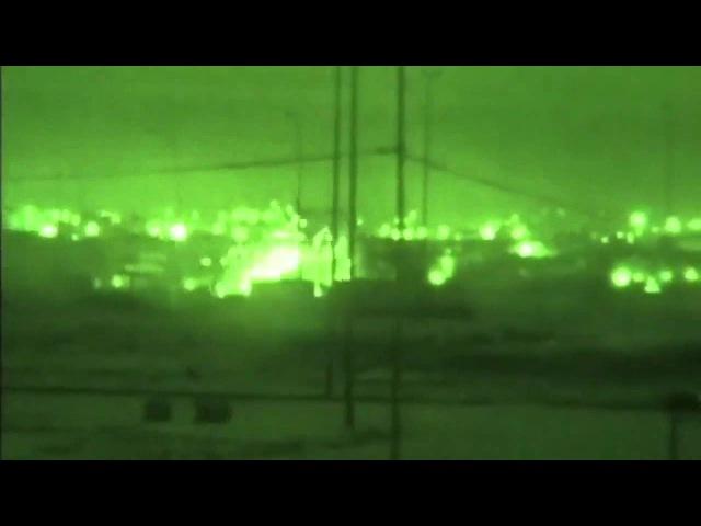 Ночные бои в Ираке Огневая поддержка UH 60 'Блек Хоук'