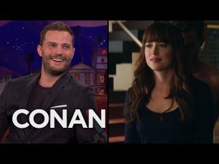 Dakota Johnson Taught Jamie Dornan How To Take Off Her Underwear - CONAN on TBS
