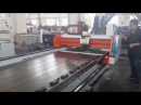 Stainless plate Gantry type V grooving machine