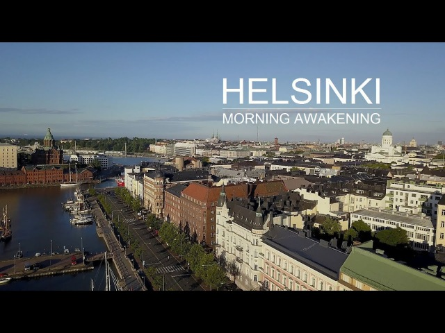 Helsinki, Finland. Morning awakening.