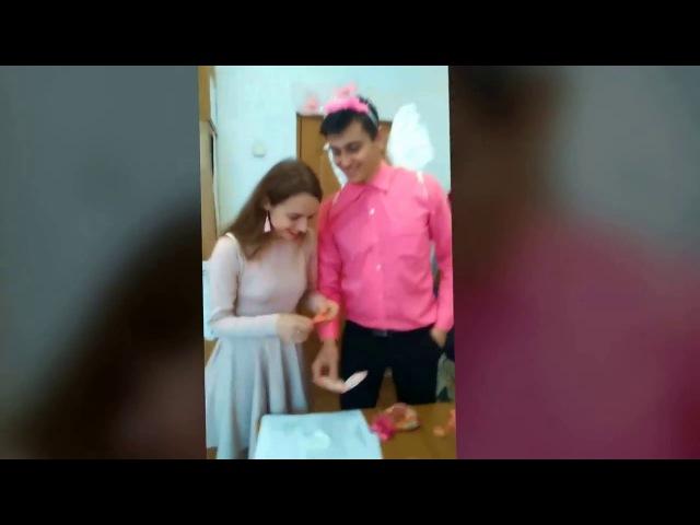 Бериславський педагогічний коледж Амури День закоханих