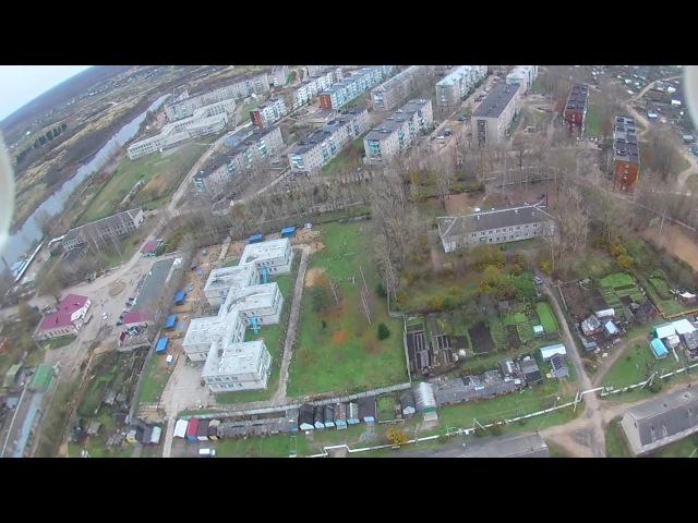 Полёт над г. Вязьма ул.Юбилейной, 02.11.2016 г.