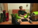 Пришивной ,,язычок,, в валяных ботинках. Мастер-класс от Марины Климчук