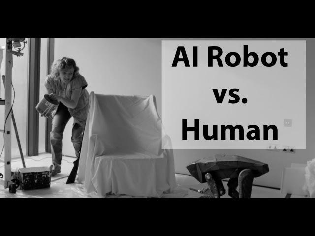 Artificial Intelligence Robot vs. Human - Black Mirror Season 4 Episode 5: Metalhead