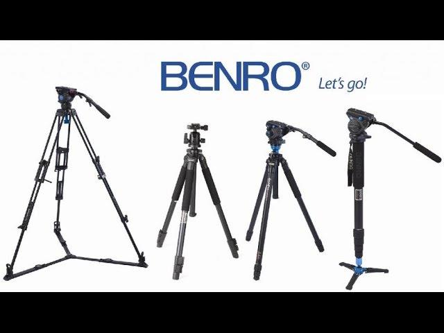 Семинар презентация Штативы моноподы видео головы от компании Benro