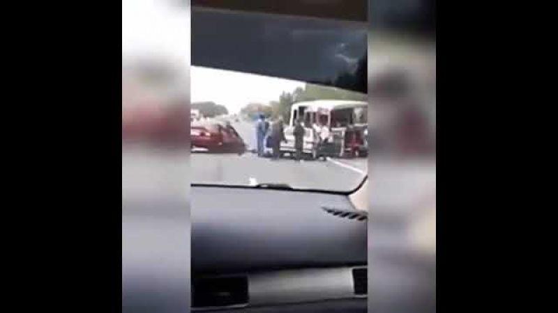 Авария у Новоульяновска