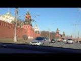 Как правильно ездить по центру Москвы Гимн Украины в центре Москвы