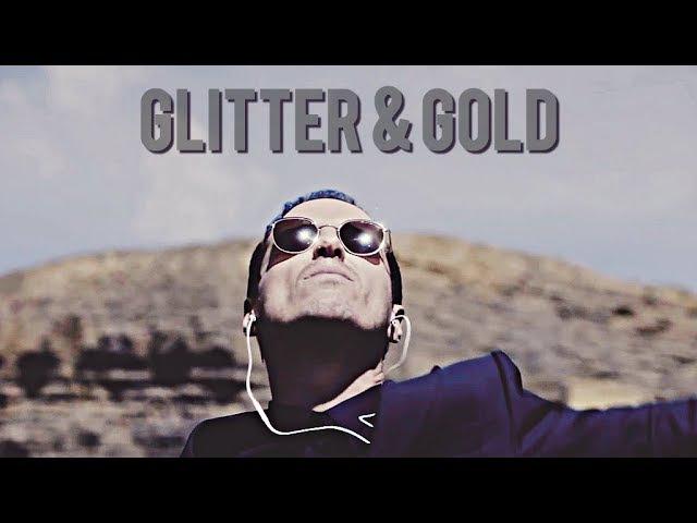 Multifandom Glitter Gold