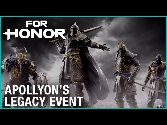 For Honor Season 5 - Apollyons Legacy Event | Trailer | Ubisoft [US]
