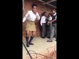 Танцевальный баттл в школе в ЮАР