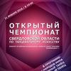 Открытый чемпионат Свердловской области
