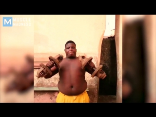 No excuses - real african gym   muscle madness
