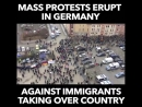 Mass protests erupt in Germany against The Peoples Voice