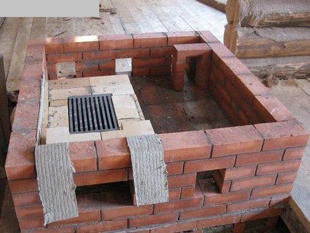 jAGGESoVM3o - Делаем кирпичную печь для бани своими руками? Пошаговая инструкция.