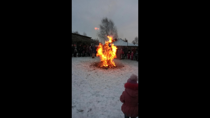 Масленица в деревне викингов 2018
