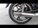 Глушитель пулемет на мопед и мотоцикл