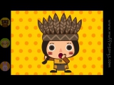 Muffin Songs - Ten Little Indians  nursery rhymes  children songs with lyrics  muffin songs