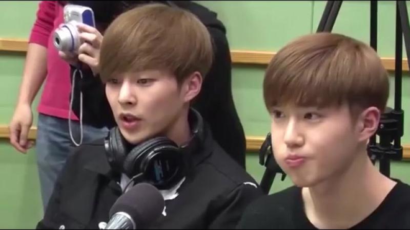 Minseok - cute singing