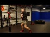 Тренировка бойца на силу и взрыв с гирей для акцентированного удара. Техника бокса и СФП. // STRONG DIVISION