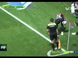 Пёс играет в футбол