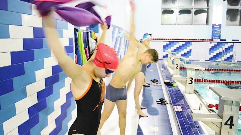 Центр спортивного плавания. Здоровый ребенок