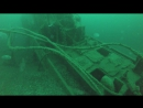 Погружение на затонувший объект. Глубина 40 метров.