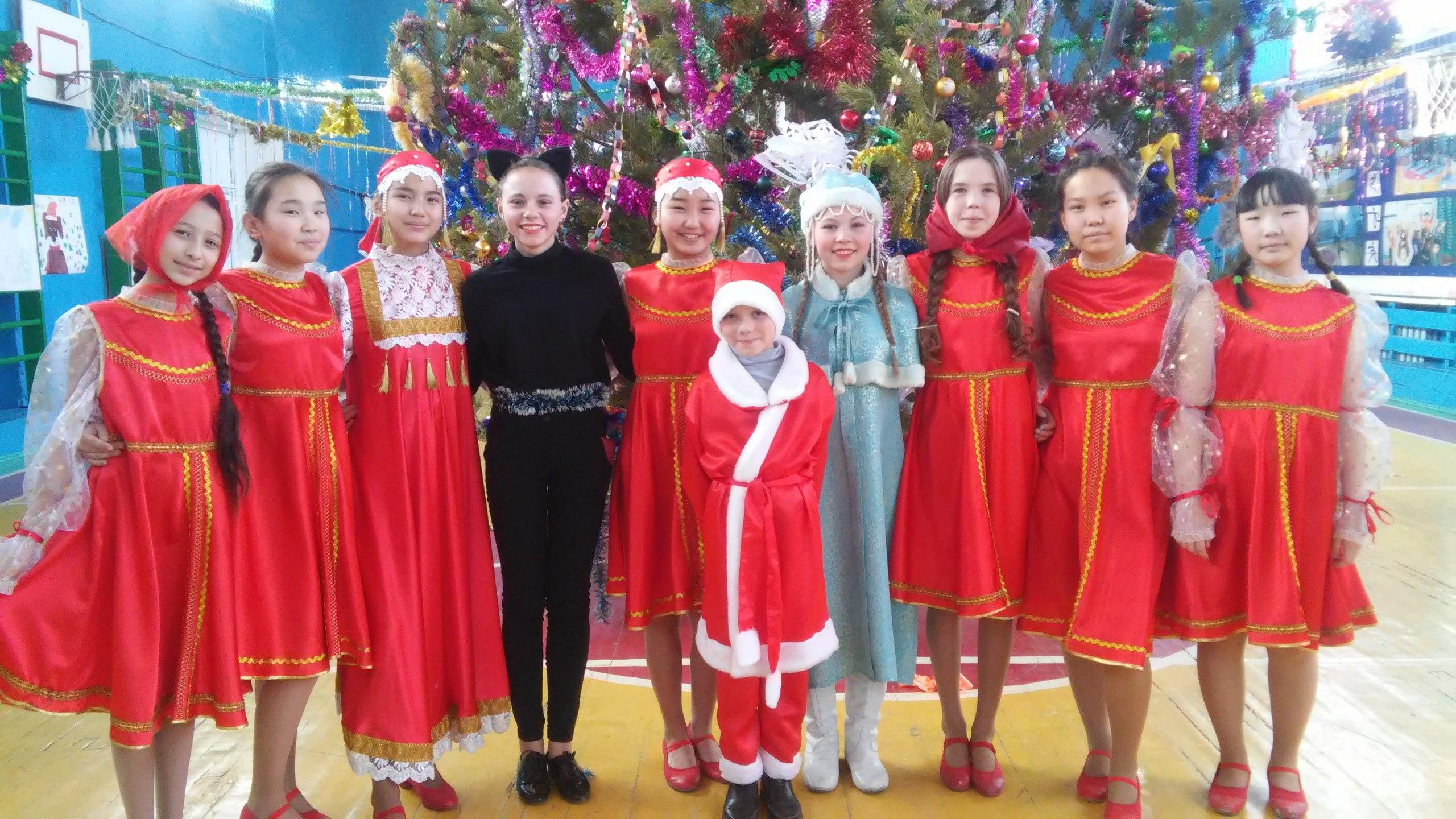 Новый год в КСШ-1