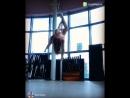 Ученица группы Pole dance Алена Логина