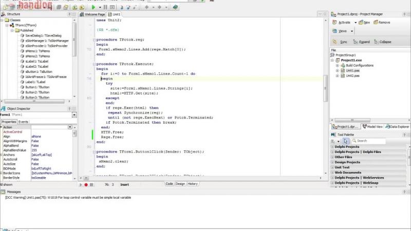 Прокси парсер Delphi Proxy parser Delphi ИсходникSource