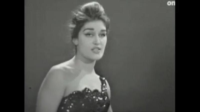 Dalida ♫ Gute Nacht Und Schöne Träume - Buenos Noches Mi Amor ♪ 1960