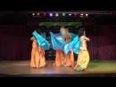 Классический арабский танец с платками