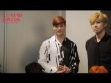 25.10.2017 U-KISS (Eli) Interview for program K STAR @ Jisin Channel