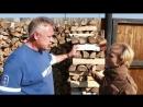 Как правильно хранить и заготавливать дрова для бани