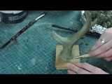 Sculpting and Mold Making Part1- Sculpting the Antler