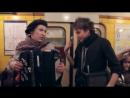 Уличные музыканты в метро Питера!