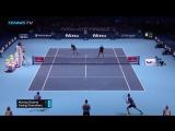 Теннис. ATP. Пары. Лондон  Д.Маррэй Б.Суарис 20 И.Додиг М.Гранольерс .Обзор матча