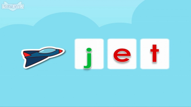 Word Families 10- A Wet Pet - Level 1 - By Little Fox