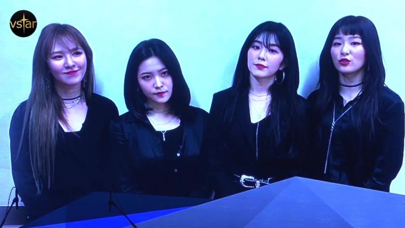 레드벨벳 Red Velvet '빨간맛' 2018 한국대중음악상 KMA '최우수 팝' Best Pop song 수상