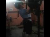 Иван Макаров, строгий жим стоя - 140 кг на 5 раз 💪