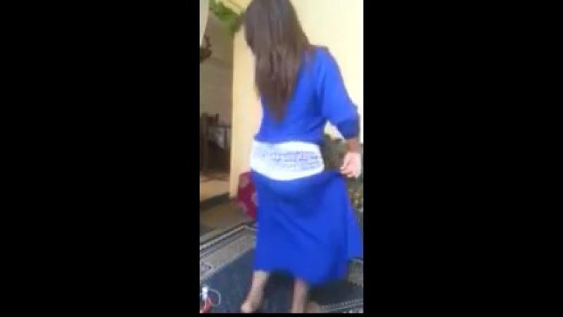 LM3 ALLEM لمعلم Moroccan Girl Sexy Ass Dance In Blue