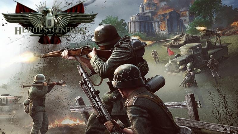 AMON глушит лопатой нациских свиней в Heroes Generals