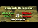 Command Conquer Generals: Zero Hour - GLA Tox vs China - EPIC [TOP REPLAY]