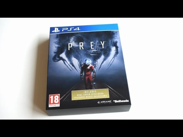 GIVES ME GOOSEBUMPS! PREY LIMITED EDITION PS4 [UNBOXING]