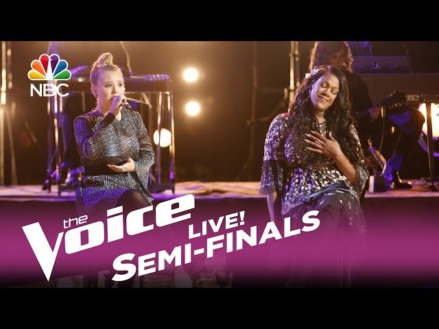 """The Voice 2017 Addison Agen Keisha Renee - Semifinals: """"Strong Enough"""""""