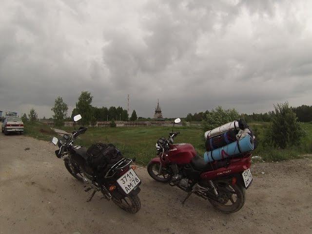 Мототрип вокруг Ладоги и Онеги